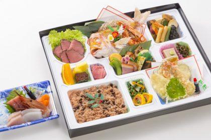 割子慶事料理「福寿」4000円(税抜)