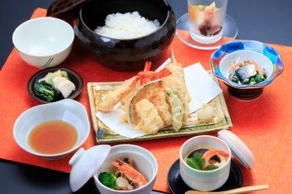 菊水の「天ぷらランチ」1000円(税抜)
