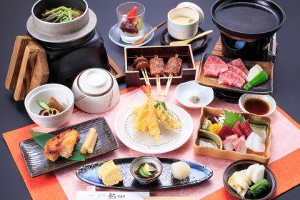 会席料理「葵(あおい)」4000円(税抜)