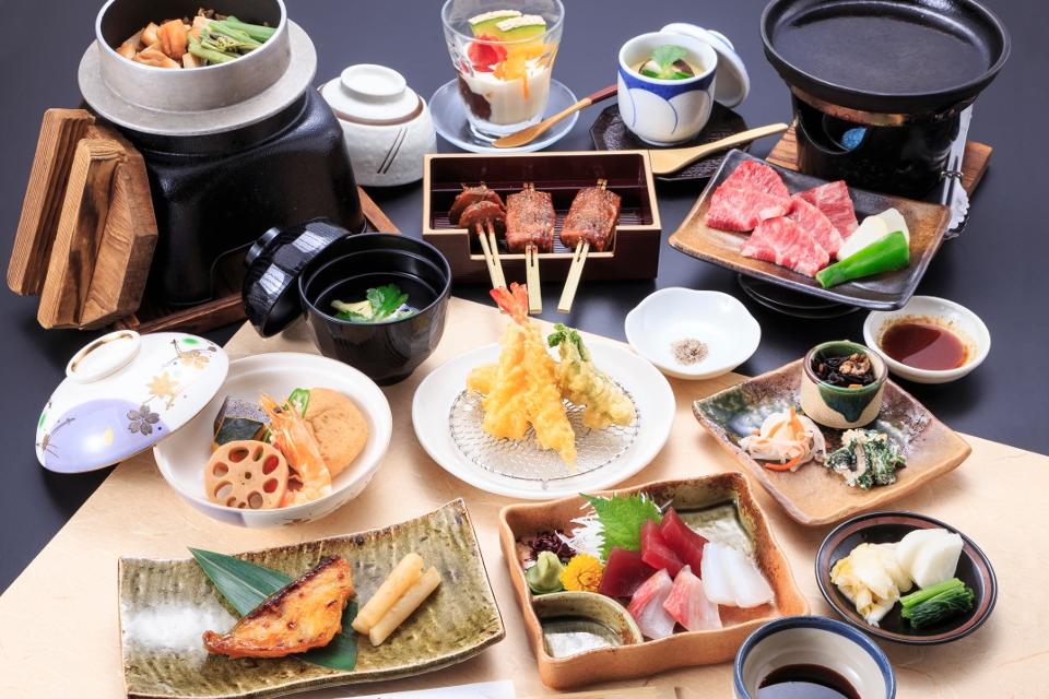 法事会席料理「芙蓉(ふよう)」5000円(税抜)