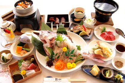 春季限定「たい会席」4000円(税抜)
