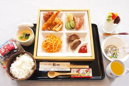 菊水の「お子さま御膳」1000円(税抜)